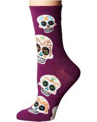 Socksmith - Big Muertos Skull - Lyst
