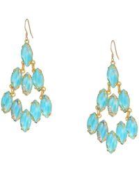 ALEX AND ANI - Raindrop Robin Earrings (shiny Gold) Earring - Lyst