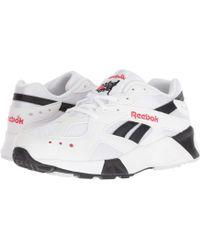 ac22d83488e Reebok - Aztrek (white black red) Athletic Shoes - Lyst