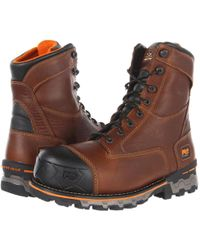 Timberland - Boondock Wp Insulated Soft Toe (brown) Men's Work Boots - Lyst