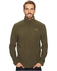 66b9689a8348 Lyst - The North Face Tka 100 Glacier 1 4 Zip in Brown for Men