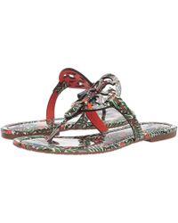 cd54505afa0c39 Tory Burch - Miller Flip Flop Sandal (light Makeup) Women s Shoes - Lyst