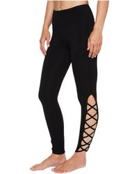 Hard Tail - X-side Ankle Leggings (white) Women's Casual Pants - Lyst