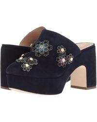 Zac Zac Posen - Vivi (navy Suede) Women's Shoes - Lyst