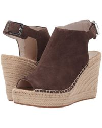 Kenneth Cole - Olivia 2 (dark Taupe Suede) Women's Shoes - Lyst