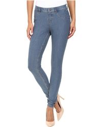 Hue - Essential Denim Leggings (stone Acid Wash) Women's Jeans - Lyst