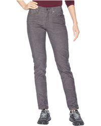 Toad&Co - Sybil Slim Cord (brown Rice) Women's Casual Pants - Lyst