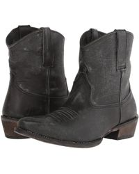 Roper - Dusty (brown) Cowboy Boots - Lyst