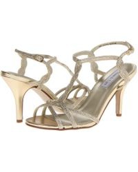 Touch Ups - Melanie (black Patent) High Heels - Lyst