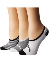 Vans - Arched Canoodle 3-pack Socks (multi) Women's Low Cut Socks Shoes - Lyst