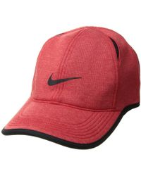 6d860b2dc94 Nike - Aerobill Featherlight Premium (black Heather black anthracite)  Baseball Caps -