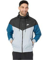 397054f6 Lyst - Nike Nsw Windrunner Hoodie Jacket in Blue for Men