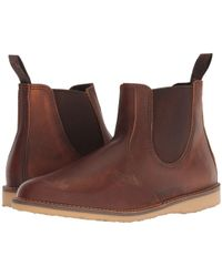 Red Wing - Weekender Chelsea (olive Mohave) Men's Boots - Lyst