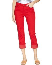 Lauren by Ralph Lauren - Straight Mid-rise Jeans (lipstick Red Wash) Women's Jeans - Lyst