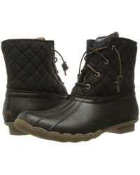 Sperry Top-Sider - Saltwater Quilted Water-Resistant Boots - Lyst