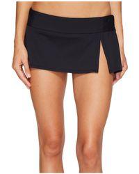 Bleu Rod Beattie - Kore Skirted Hipster Bikini Bottom (navy) Women's Swimwear - Lyst