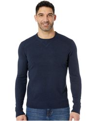 Smartwool - Sparwood Crew Sweater (deep Navy Heather) Men's Sweater - Lyst