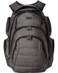 Kenneth Cole Reaction - Pack Of All Trades Computer Backpack (charcoal) Backpack Bags - Lyst