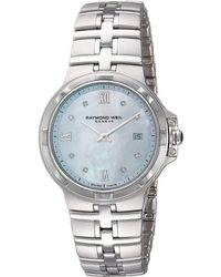 Raymond Weil - Parsifal - 5180-st-00995 (stainless Steel/mother-of-pearl) Watches - Lyst