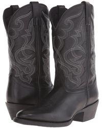 Laredo - Maddie (distressed Tan) Cowboy Boots - Lyst