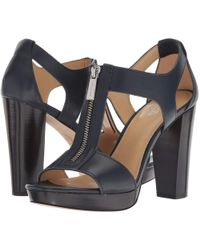 d58a4a0c71c841 MICHAEL Michael Kors - Berkley Sandal (black Vachetta) Women s Dress Sandals  - Lyst