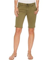 Kut From The Kloth - Natalie Bermuda In Olive - Lyst