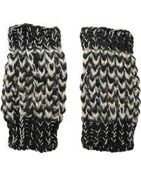 San Diego Hat Company - Kng3606 Metallic Yarn Fingerless Gloves (black) Dress Gloves - Lyst