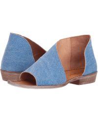 Free People - Denim Mont Blanc Sandal (washed Denim) Women's Sandals - Lyst