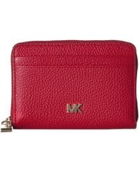 a1cccd0c3623 MICHAEL Michael Kors - Zip Around Coin Card Case (brown/acorn) Credit Card