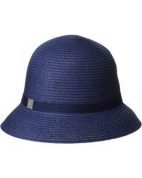 0175d3cec147b Lauren by Ralph Lauren Paper Straw Open Weave Tassel Beach Hat in ...