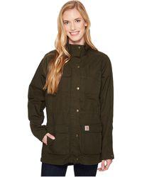 Carhartt - Smithville Jacket (tan) Women's Coat - Lyst