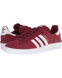 buy online d25cb 1b3a5 adidas Originals - Campus Adv (blackwhitewhite) Mens Skate Shoes -