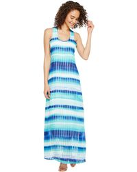 Kensie multi-stripe maxi dress