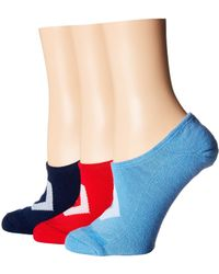 947db8ef26c5 Converse - 3-pair Pack Made For Chuck Color Contrast Star Chevron (navy  Assorted
