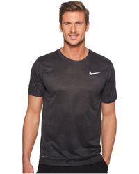 Nike - Dry Legend Training T-shirt (anthracite/black) Men's T Shirt - Lyst