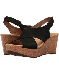 Clarks - Annadel Eirwyn (gold Metallic) Women's Sandals - Lyst