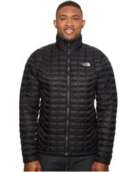 5e08acb3cd The North Face - Thermoball Jacket - Tall (urban Navy Matte 1) Men s Coat
