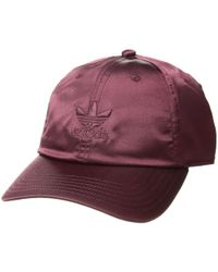 2576953c351ad adidas Originals - Originals Relaxed Satin Strapback (base Green) Caps -  Lyst