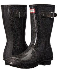 HUNTER - Original Starcloud Short Rain Boots - Lyst