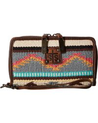 STS Ranchwear - The Kacy Organizer (tornado Brown/sedona Serape) Handbags - Lyst