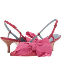 Frances Valentine - Grace (light Blue/red Shiny Nappa) High Heels - Lyst