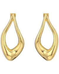 Vince Camuto - Organic Post Earrings (rhodium) Earring - Lyst