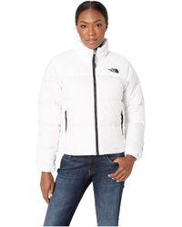 The North Face - 1996 Retro Nuptse Jacket (tnf White) Women's Coat - Lyst