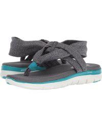 21f7b4fe3555 Skechers - Flex Appeal 2.0 - Studio Time (black) Women s Shoes - Lyst