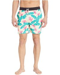 Hurley - Hanoi Volley 17 (crimson Tint) Men's Swimwear - Lyst
