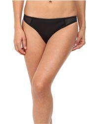 Stella McCartney - Neoprene & Mesh Classic Bikini Bottom - Lyst