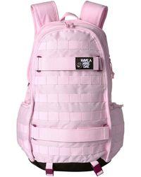 Lyst - Nike Move Free Gymsack (storm Pink storm Pink black) Backpack ... b86f599320b10