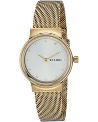 Skagen - Freja - Skw2717 (gold) Watches - Lyst