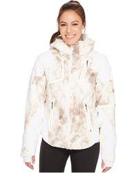 Spyder - Panorama Jacket (white Alchemy Print/white Alchemy Print/white) Women's Coat - Lyst
