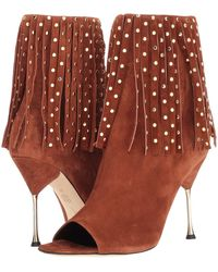 Brian Atwood - Sophia (whiskey Cashmere Suede) Women's Shoes - Lyst